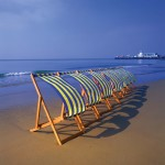Bournemouth Images - deckchairs (manipulated)