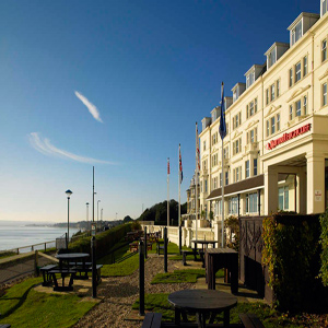 Quality Accommodation - Bournemouth Highcliff Marriott Hotel